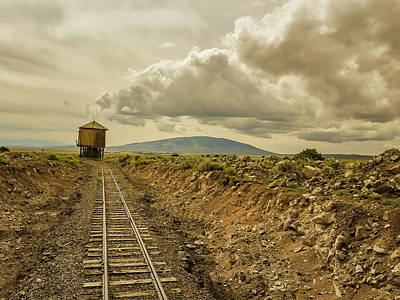 Photograph - Cumbres And Toltec Water Stop by Debra Martz