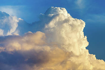 Photograph - Cumulonimbus Calvus Cloud by SR Green