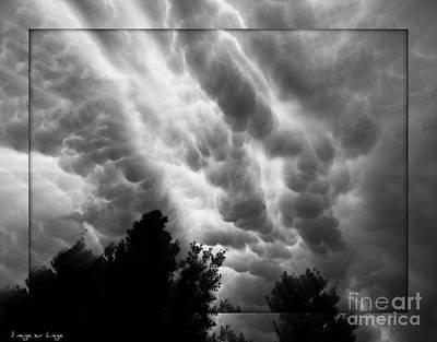 Photograph - Cumulonimbus Clouds Over Cagliari by Mariana Costa Weldon