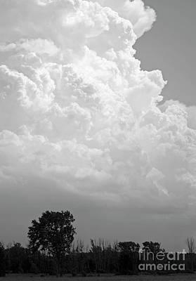 Photograph - Cumulonimbus by Elaine Mikkelstrup