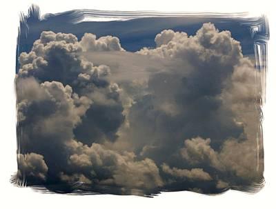 Cumulonimbus Art Print by Priscilla Richardson