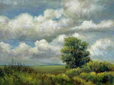 Painting - Cumulous by Jill Musser