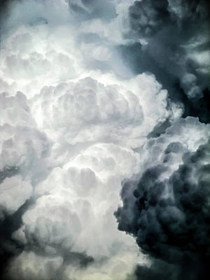 Photograph - Cumulus Boiling 2011 by Greg Reed