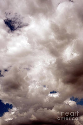 Photograph - Cumulus Clouds With Vertical Ggrowth  by Jim Corwin