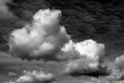 Photograph - Cumulus Congestus Clouds  by Jim Corwin
