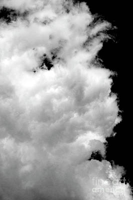 Photograph - Cumulus Congestus Clouds Man's Face  by Jim Corwin
