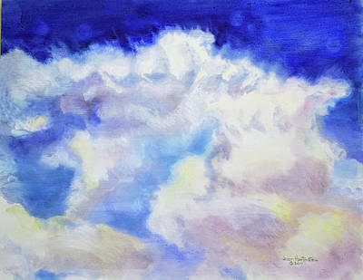 Painting - Cumulus  by Joan Hartenstein