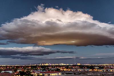 Photograph - Cumulus Las Vegas by Michael Rogers