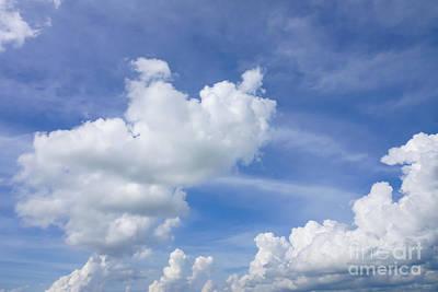 Photograph - Cumulus Puffs by Jennifer White