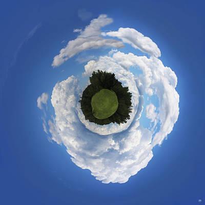 Photograph - Cumulus Sky by John Meader