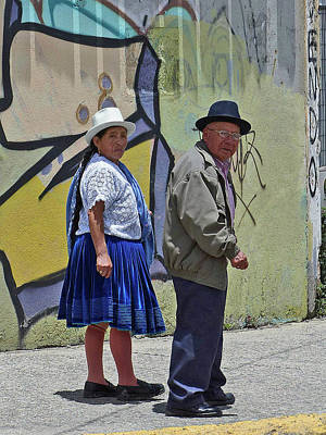Photograph - Cunca Street Life 1 by Jeff Brunton