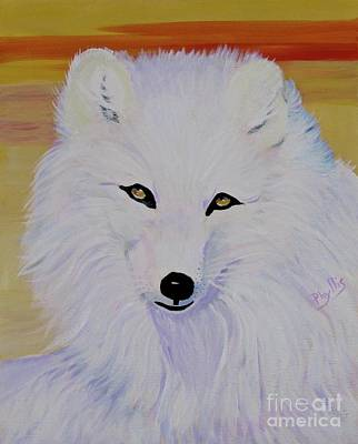 Painting - Cunning Fox by Phyllis Kaltenbach