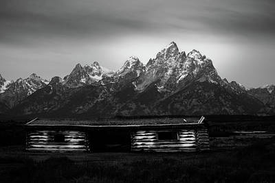 Photograph - Cunningham Cabin by TL  Mair