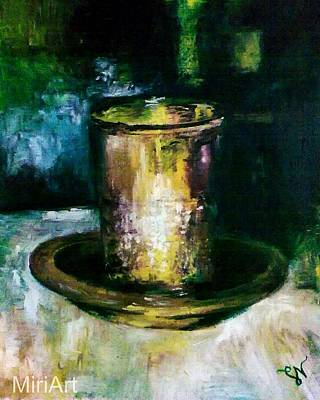 Painting - Cup Of Blessing by Miriam Shaw