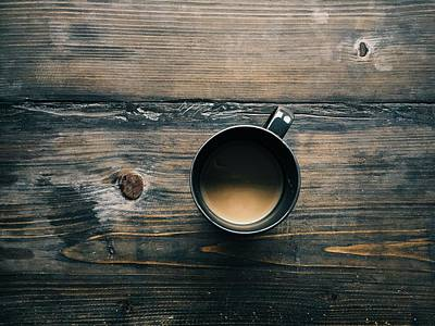 Photograph - Cup Of Coffee by Tilen Hrovatic