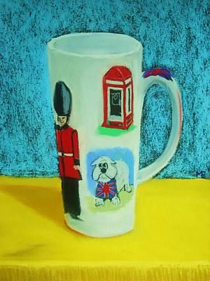 Cup Of London Java Art Print