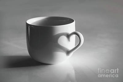 Photograph - Cup Of Love by Delphimages Photo Creations