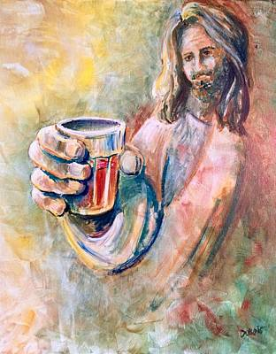 Painting - Cup Of Salvation by Lisa DuBois