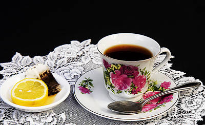 Photograph - Cup Of Tea Please by Trudy Wilkerson