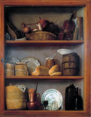 Painting - Cupboard by Antonio Perez de Aguilar