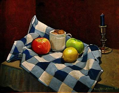 Cupboard Still Life Art Print by Doug Strickland