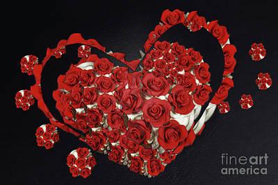Digital Art - Cupcake Love by Afrodita Ellerman