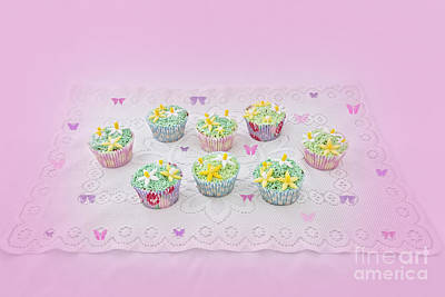Photograph - Cupcakes And Butterflies by Terri Waters
