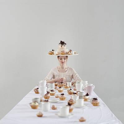 Cupcakes Art Print by Dasha Pears