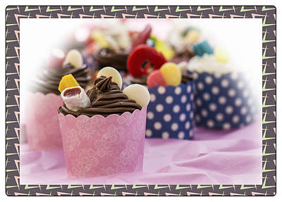 Wall Art - Photograph - Cupcakes by Michel Emery