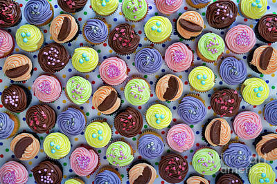 Photograph - Cupcakes by Tim Gainey