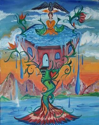 Painting - Cupfull by Elizabeth Zaikowski