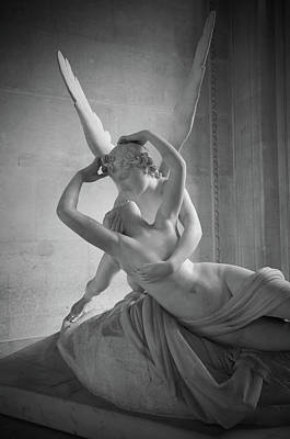 Photograph - Cupid And Psyche by Sarah Lamoureux