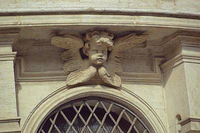 Cupid Protecting Saint Agnes Art Print by JAMART Photography