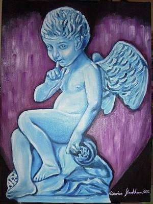 Painting - Cupid With Love by Wanvisa Klawklean