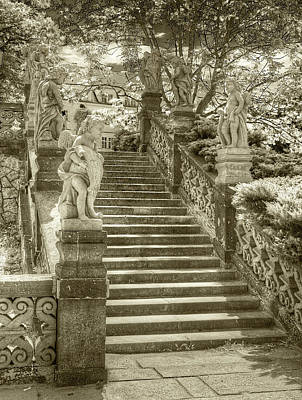 Photograph - Cupids Stairway by Michael Kirk