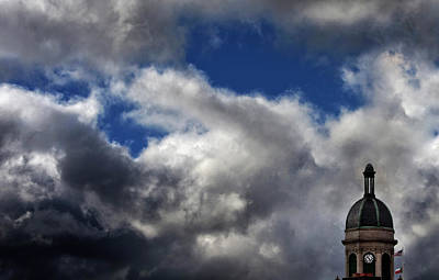Photograph - Cupola And Sky by Greg Mimbs