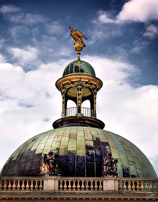 Photograph - Cupola At Sans Souci by Endre Balogh