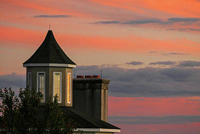 Photograph - Cupola In The Sunset by Bill Jordan