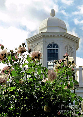 Photograph - Cupola Mayflower Society House by Janice Drew