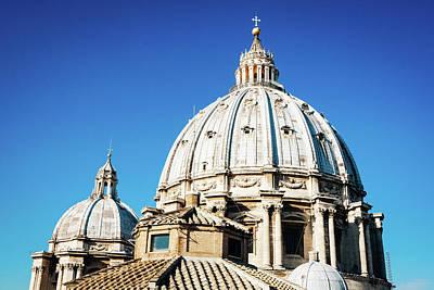 Photograph - Cupola Of St. Peter's Basilica In Vatican by Jiri Vatka