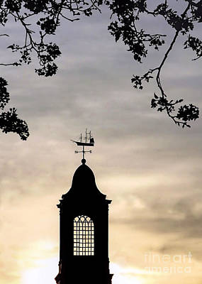 Photograph - Cupola Silhouette by Janice Drew