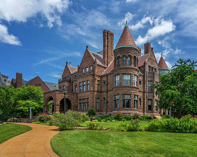 Photograph - Cupples House At St Louis University_dsc0316_16 by Greg Kluempers