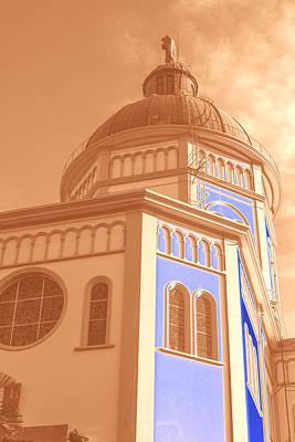 Cupula Iglesia Maria Auxiliadora - San Salvador Iv Art Print by Totto Ponce