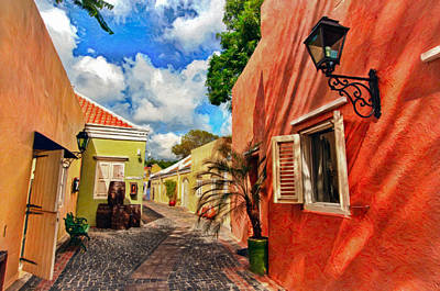 Curacao Colours Art Print