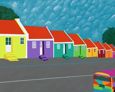 Curacao Dreams IIi Art Print