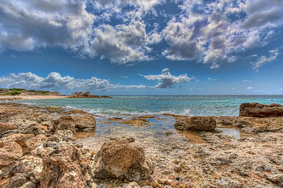 Photograph - Curacao Rocks by Nadia Sanowar