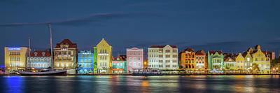 Photograph - Curacao Skyline Panorama by Edwin Mooijaart