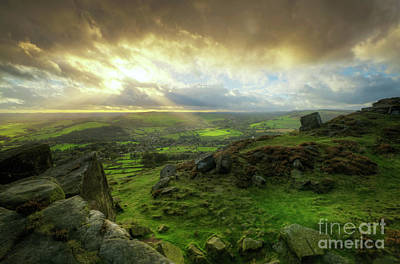 Photograph - Curbar Edge 1.0 by Yhun Suarez