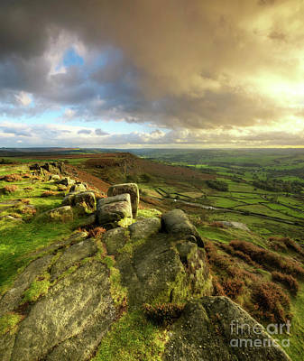 Photograph - Curbar Edge 2.0 by Yhun Suarez