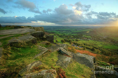 Photograph - Curbar Edge 3.0 by Yhun Suarez